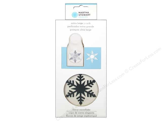 Martha Stewart Extra Large Punch Fancy Snowflake