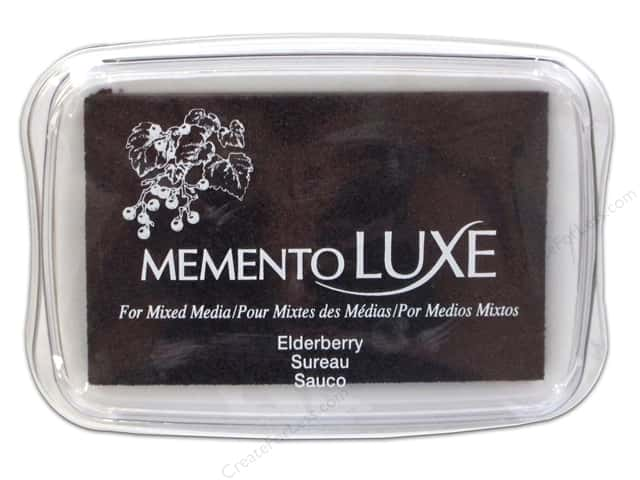 Tsukineko Memento Luxe Ink Pad Large Elderberry