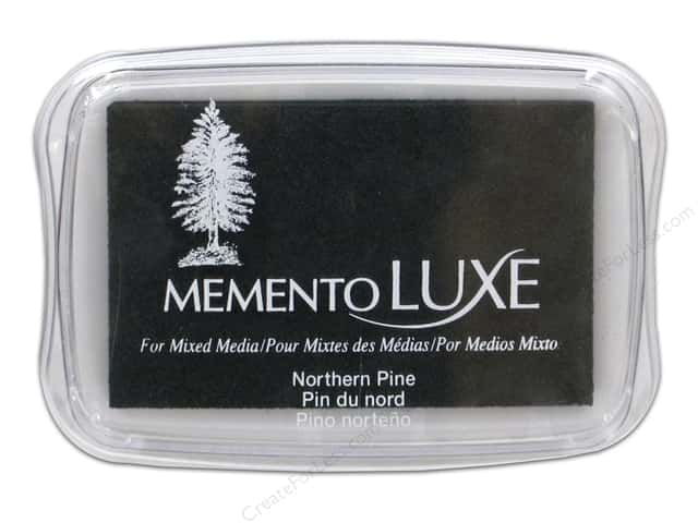 Tsukineko Memento Luxe Ink Pad Large Northern Pine