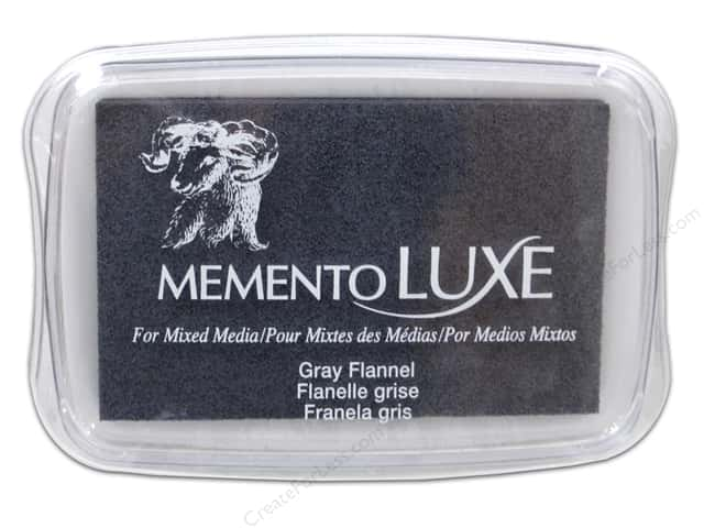 Tsukineko Memento Luxe Ink Pad Large Grey Flannel