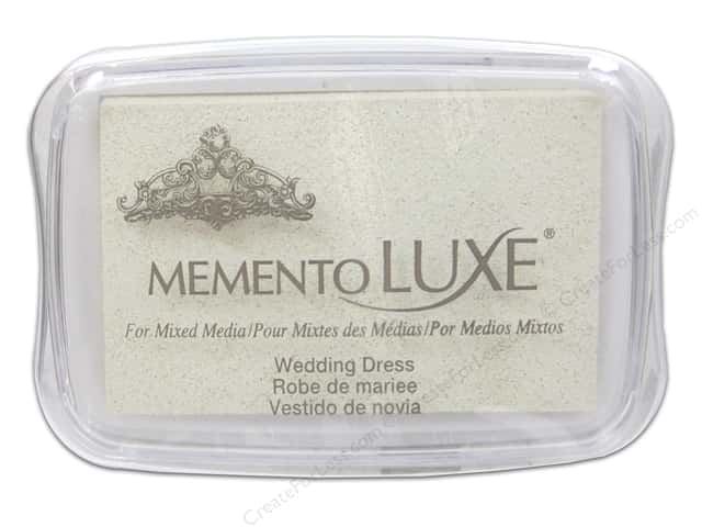 Tsukineko Memento Luxe Ink Pad Large Wedding Dress