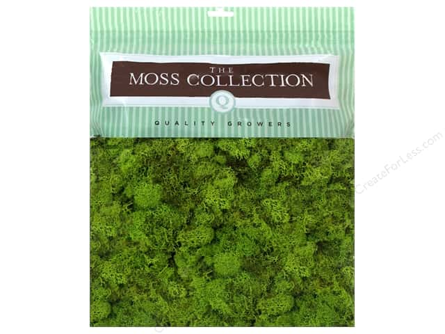 Quality Growers Moss Reindeer Chartreuse 328 cu in