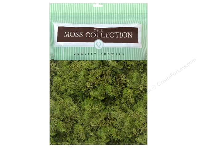 Quality Growers Moss Reindeer Spring Green 108.5 cu in