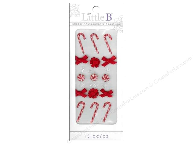 Little B Sticker Mini Holiday Peppermints