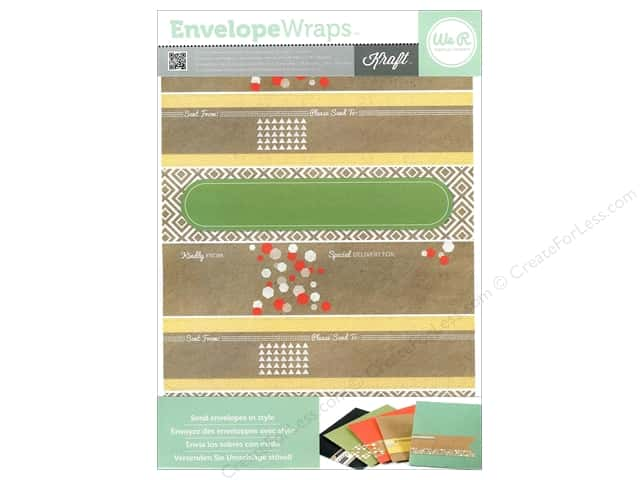 We R Memory Keepers Self-Adhesive Envelope Wraps Kraft