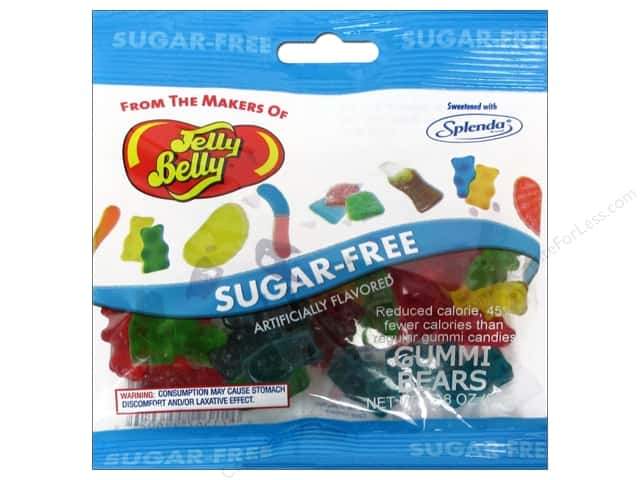 Jelly Belly Confections 2.8 oz. Sugar Free Gummi Bear