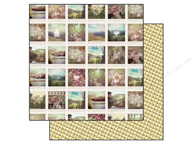 Carta Bella 12 x 12 in. Paper Wild Flower Snapshots (25 sheets)