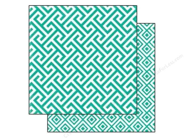 Echo Park 12 x 12 in. Paper Style Essentials 34th Street Calypso Geometric (25 sheets)