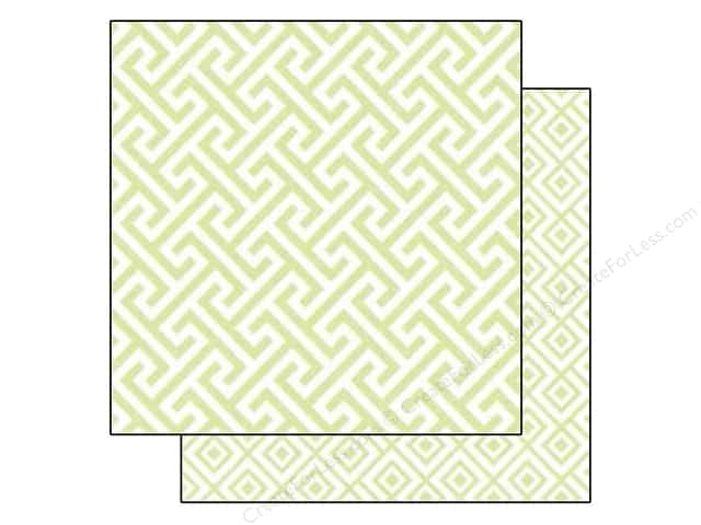Echo Park 12 x 12 in. Paper Style Essentials 34th Street Sprig Geometric (25 sheets)