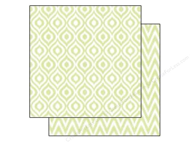 Echo Park 12 x 12 in. Paper Style Essentials 34th Street Sprig Ikat (25 sheets)