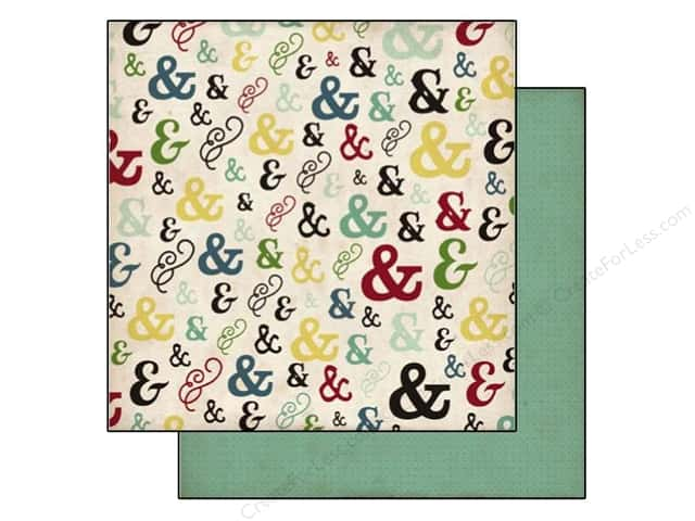 Echo Park 12 x 12 in. Paper Times & Seasons 2 Ampersand (25 sheets)