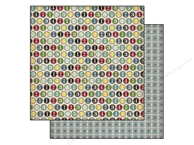 Echo Park 12 x 12 in. Paper Times & Seasons 2 Collection Number Circles (25 sheets)