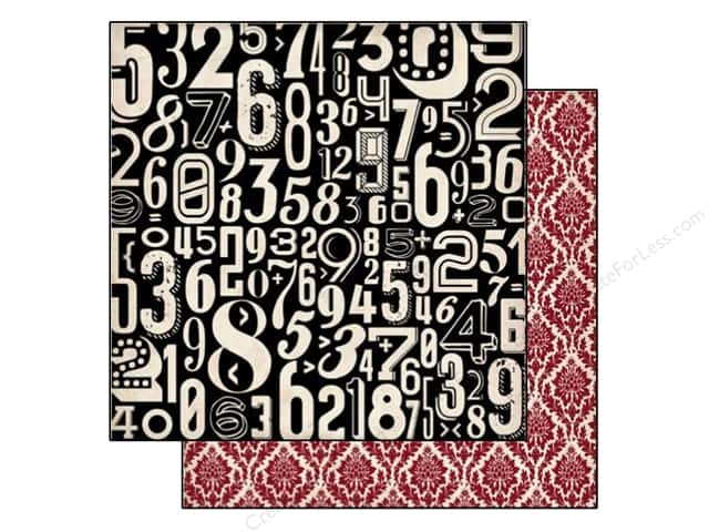 Echo Park 12 x 12 in. Paper Times & Seasons 2 Collection Numbers (25 sheets)