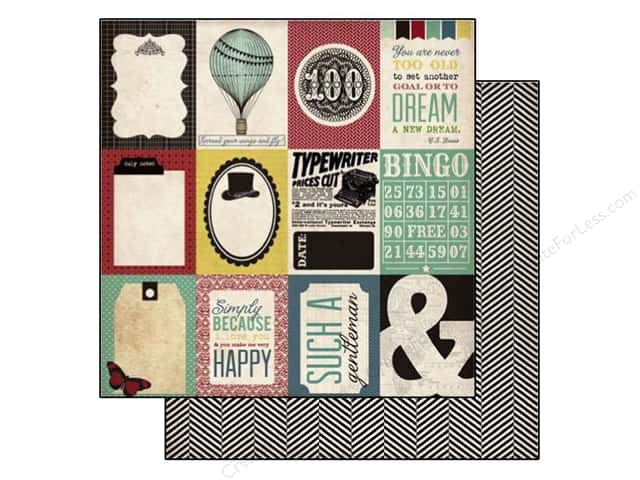 Echo Park 12 x 12 in. Paper Times & Seasons 2 Journaling Cards (25 sheets)