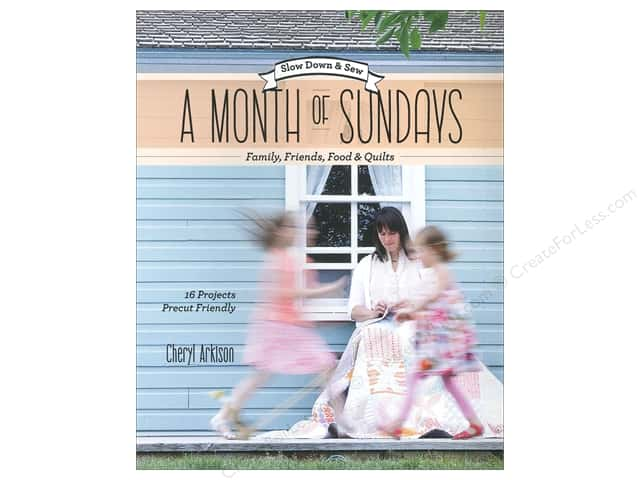 Stash By C&T A Month Of Sundays Book by Cheryl Arkison