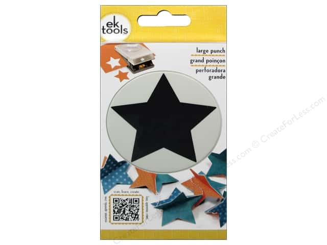 EK Success Large Punch Star 2 3/8 in.