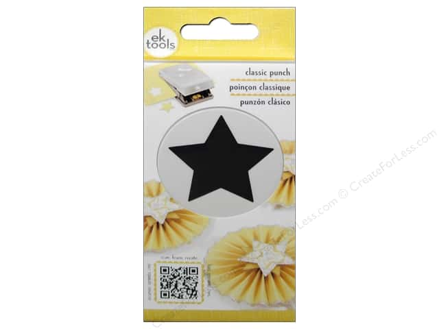 EK Paper Shapers Punch Nesting Classic Star