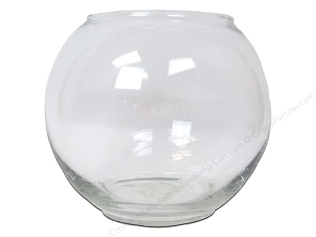 Crisa by Libbey Glass Small Footed Bubble Bowl 5 in. (4 pieces)