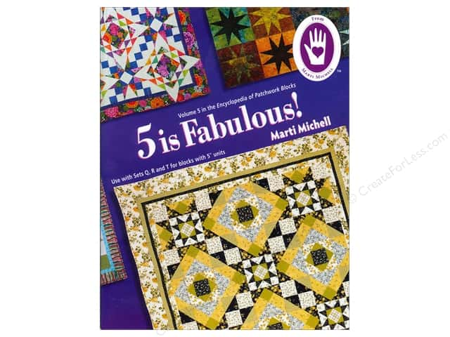 Marti Michell 5 Is Fabulous Encyclopedia Of Patchwork Blocks #5 Book