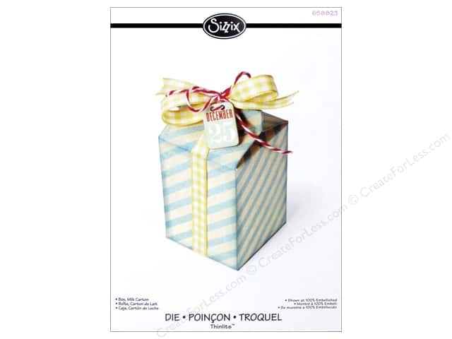Sizzix Thinlits Die 1 pc. Milk Carton Box