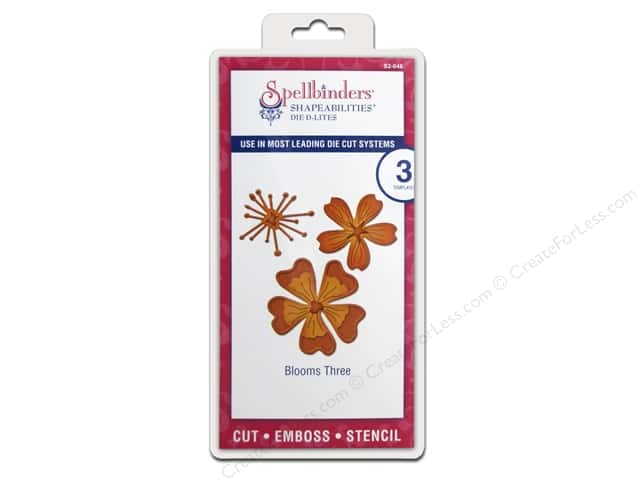 Spellbinders D-Lites Die Blooms Three