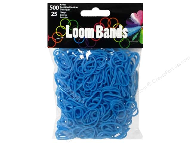 Midwest Design Loom Bands 525 pc. Blue