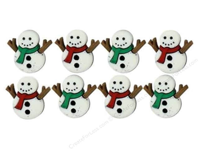 Jesse James Dress It Up Embellishments Sew Cute Snowmen