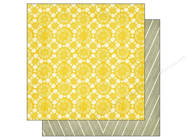 Crate Paper 12 x 12 in. Paper Close Knit Fabric (25 sheets)