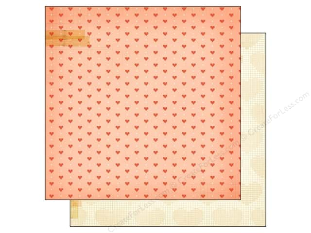 Crate Paper 12 x 12 in. Paper Close Knit Needle & Thread (25 sheets)