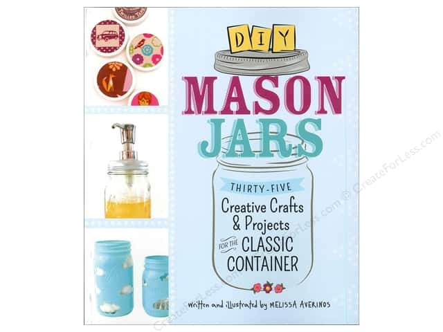 Adams Media Corporation DIY Mason Jars Book by Melissa Averinos