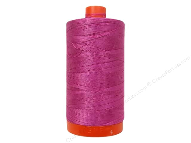 Aurifil Mako Cotton Quilting Thread 50 wt. #2588 Light Magenta 1420 yd.