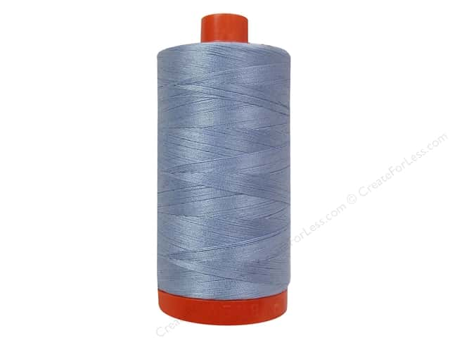 Aurifil Mako Cotton Quilting Thread 50 wt. #2770 Very Light Delft 1420 yd.