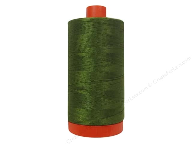 Aurifil Mako Cotton Quilting Thread 50 wt. #2887 Olive 1420 yd.