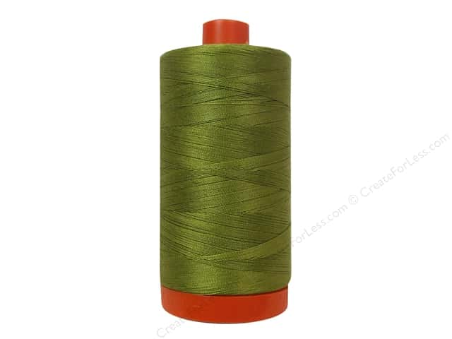 Aurifil Mako Cotton Quilting Thread 50 wt. #2910 Medium Olive 1420 yd.