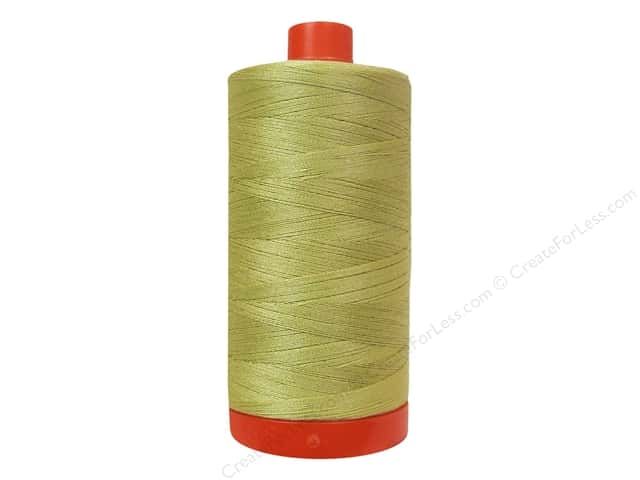 Aurifil Mako Cotton Quilting Thread 50 wt. #2915 Very Light Brass 1420 yd.