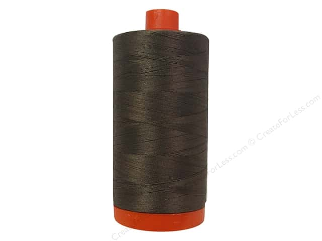 Aurifil Mako Cotton Quilting Thread 50 wt. #1140 Bark 1420 yd.