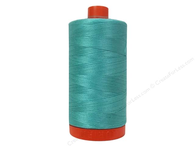 Aurifil Mako Cotton Quilting Thread 50 wt. #1148 Light Jade 1420 yd.