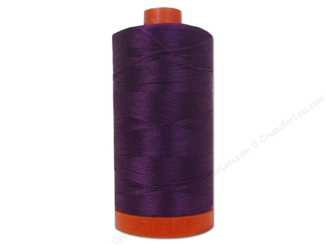 Aurifil Mako Cotton Quilting Thread 50 wt. #2545 Medium Purple 1420 yd.
