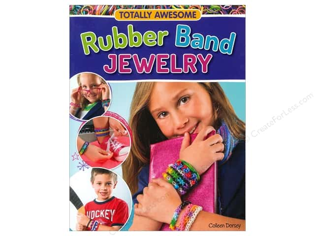 Design Originals Rubber Band Jewelry Book by Colleen Dorsey
