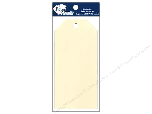 Craft Tags by Paper Accents 2 1/2 x 5 1/4 in. 25 pc. Manila