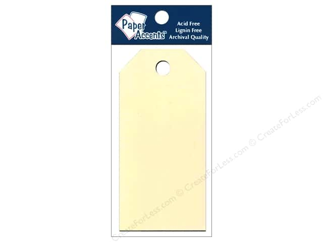 Craft Tags by Paper Accents 2 1/8 x 4 1/4 in. 25 pc. Manila