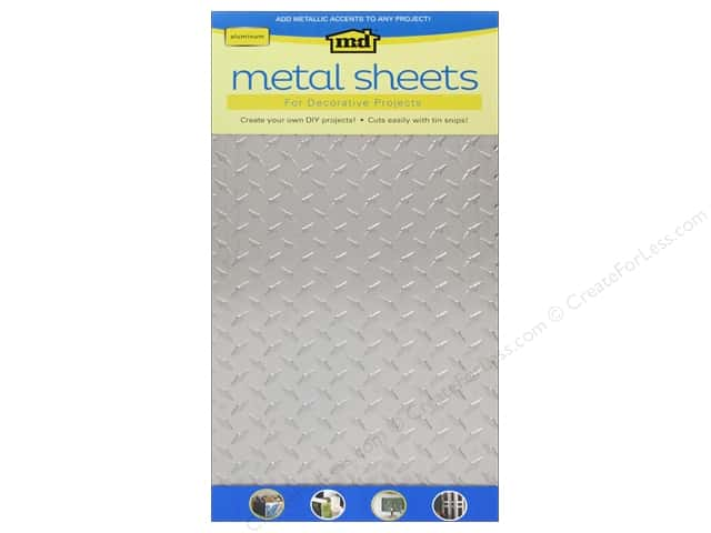 "MD Metal Sheet 12""x 24"" Aluminum Diamond Tread"