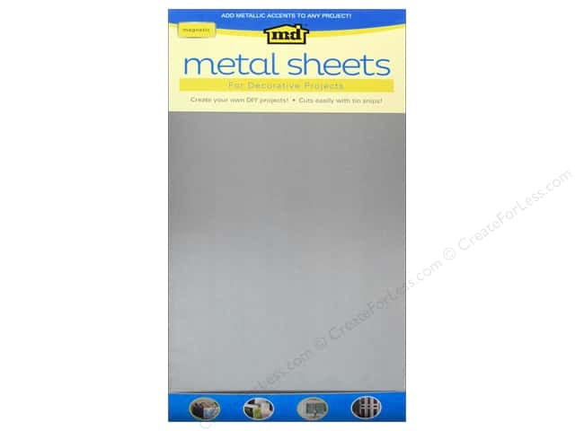 "MD Metal Sheet 12""x 24"" Galvanized Steel"