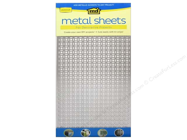 "MD Metal Sheet 12""x 24"" Aluminum Elliptical"