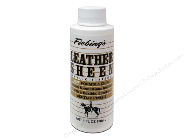 Fiebings Leathercraft Leather Sheen 4oz