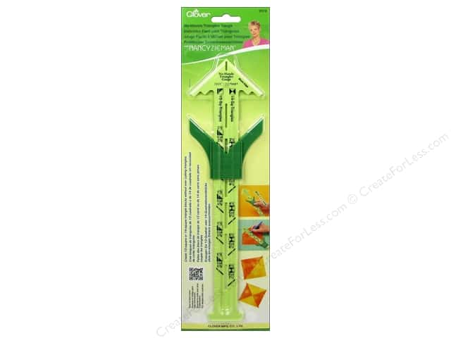 Clover No-Hassle Triangles Gauge with Nancy Zieman