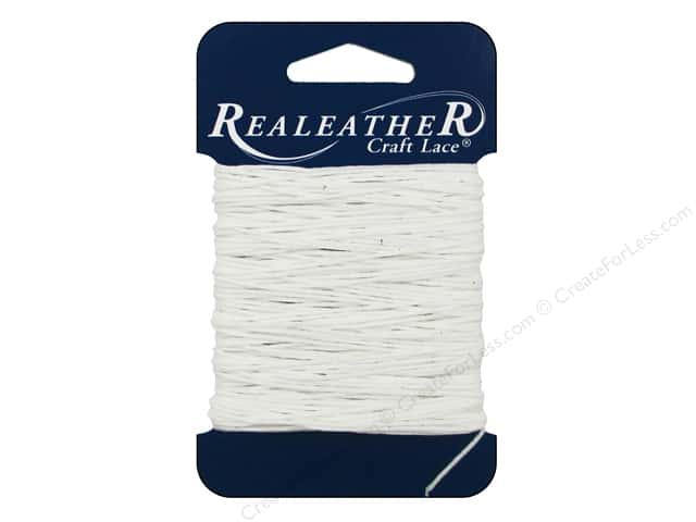 Silver Creek Waxed Thread 25 yd. White