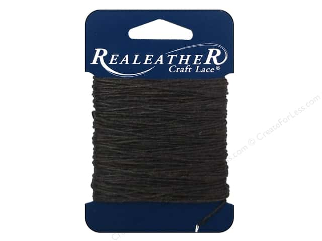 Silver Creek Waxed Thread 25 yd. Brown