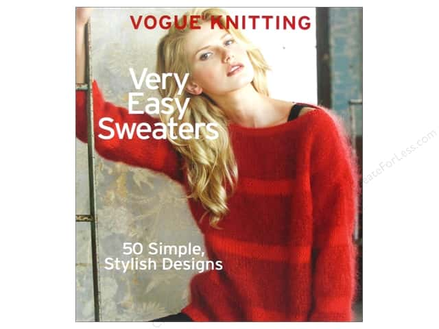 Sixth & Spring Vogue Knitting Very Easy Sweaters Book by Trisha Malcolm