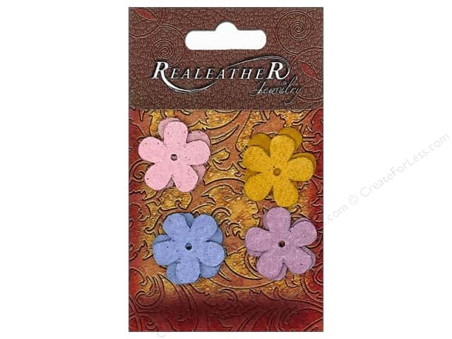 Silver Creek Suede Shapes 8 pc. Flowers Brights